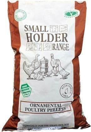 A & p ornamental poultry pellets